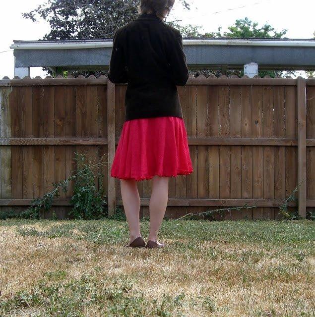 Me Made: Watermelon Paisley Skirt