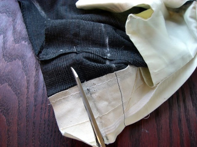 Altering a Man's Suit: Part 2 Waist and Seat