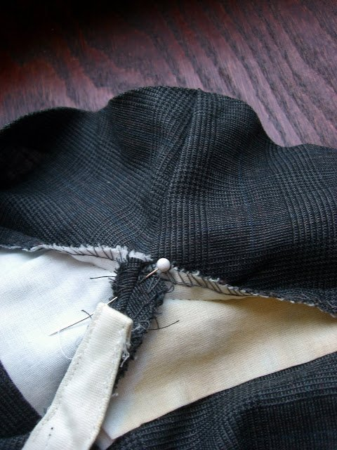 Altering a Man's Suit: Part 3 Stride