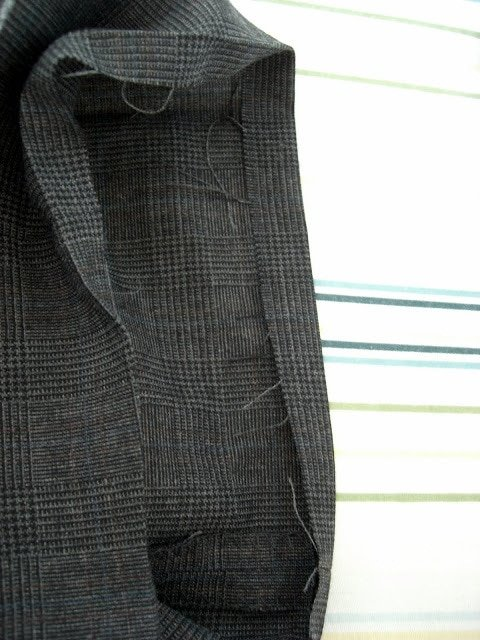 Altering a Man's Suit: Part 4 Hand-hemming Pants