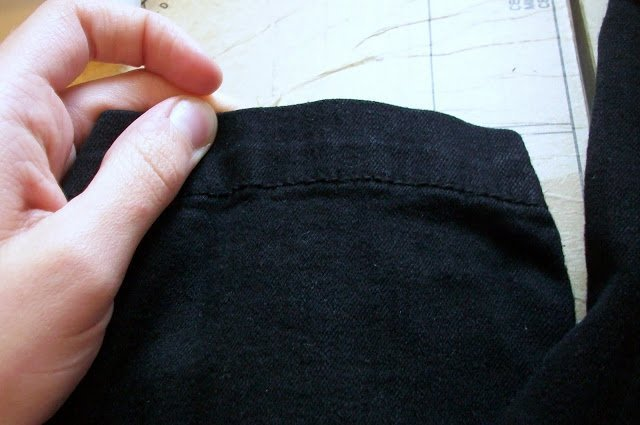 how to lengthen pants before