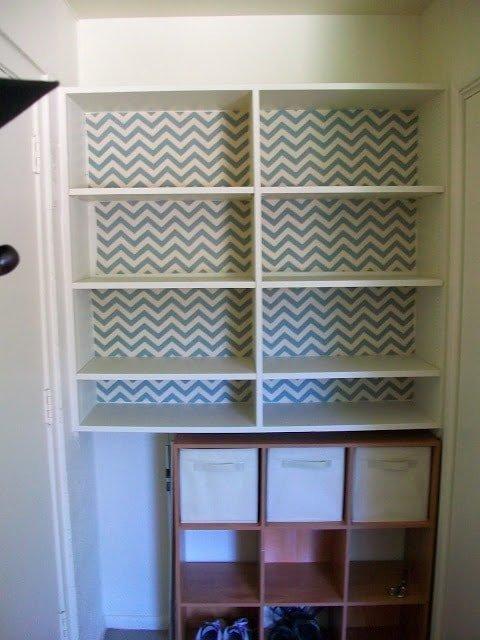 Temporary Fabric Wallpaper Tutorial