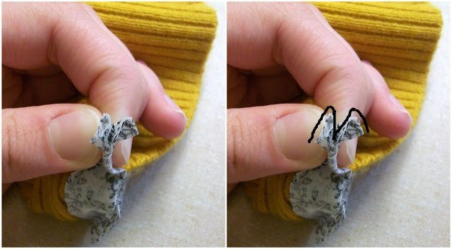 Tutorial: Refashion a Sweater Into a Cardigan
