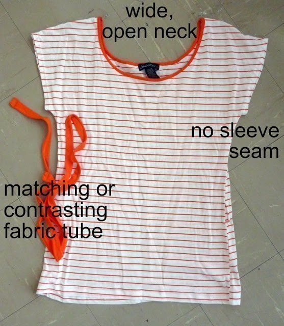 Easy Nursing Top Refashion Tutorial