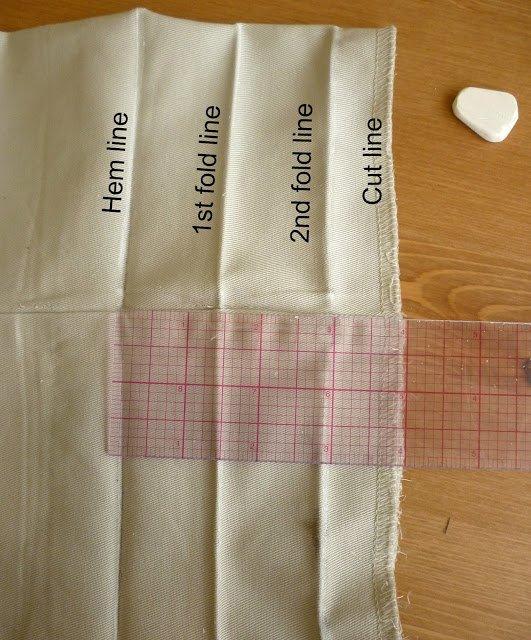 mark four folds on dress pants