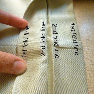 fold all the way around