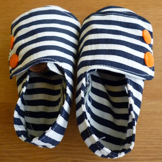 Nautical Baby Shoes