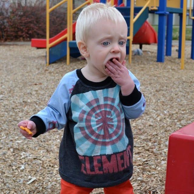 Little Boy Skater Shirt