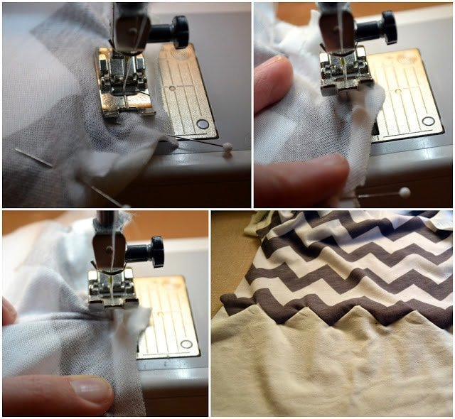 Chevron Seam Tutorial: Sew Knits With A Straight Stitch