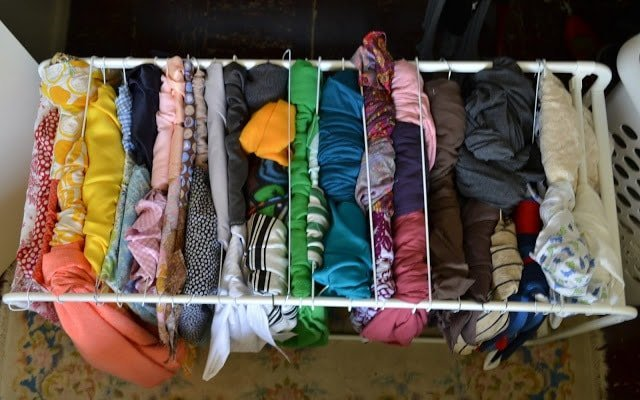 How I Organize My Fabric and a Giveaway