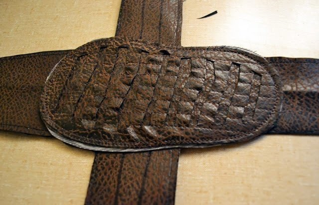 FREE PATTERN: Size 4 Leather Sandals