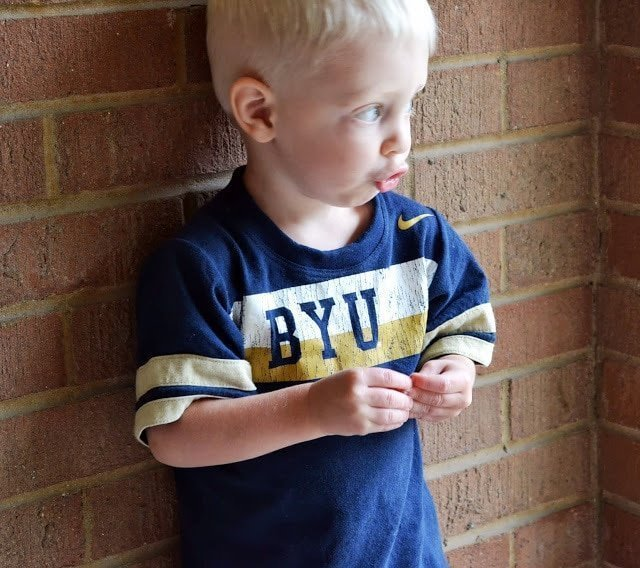 Boy's Upcycled Tee
