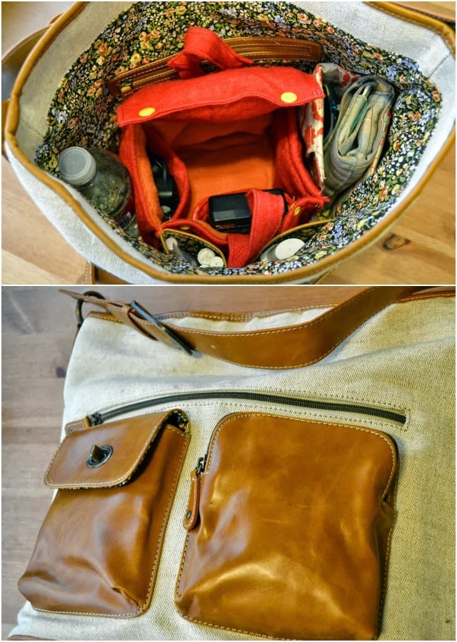 DIY Camera Case and Purse Organizer