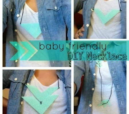 8 DIY Baby-Friendly Necklace Ideas