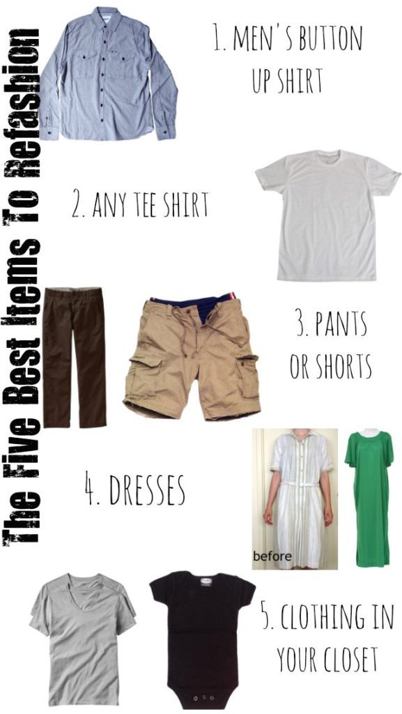 The Five Best Items To Refashion