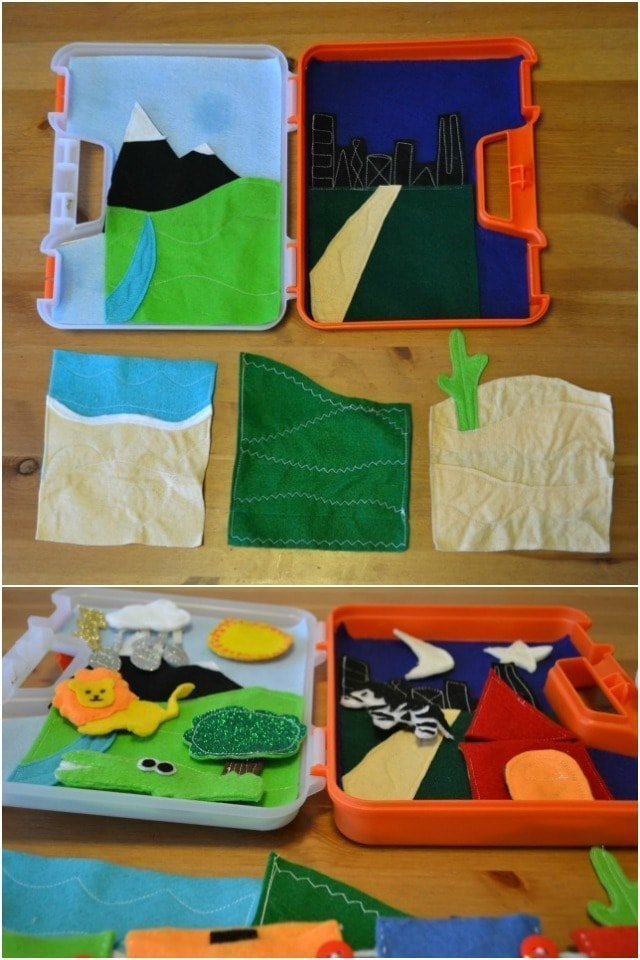 DIY Carry-Along Felt Activity