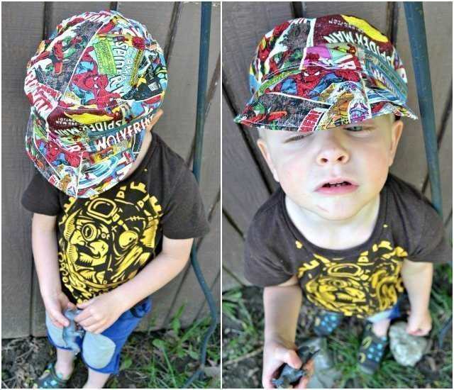Sewing for the Boy: Superhero Hat