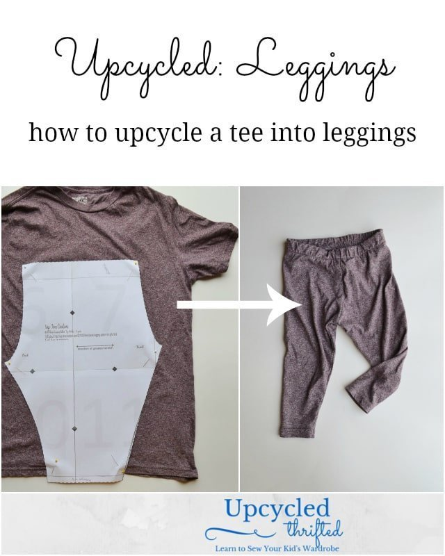 Upcycled Tutorial: How to Sew Baby Leggings