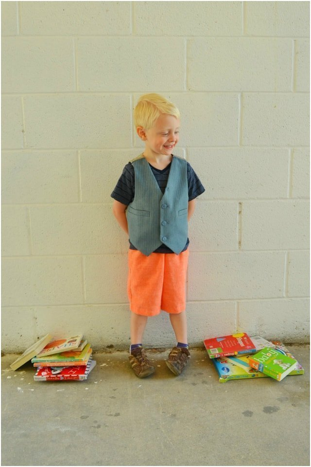 How to Upcycle: Little Boy Vest // DIY Sew