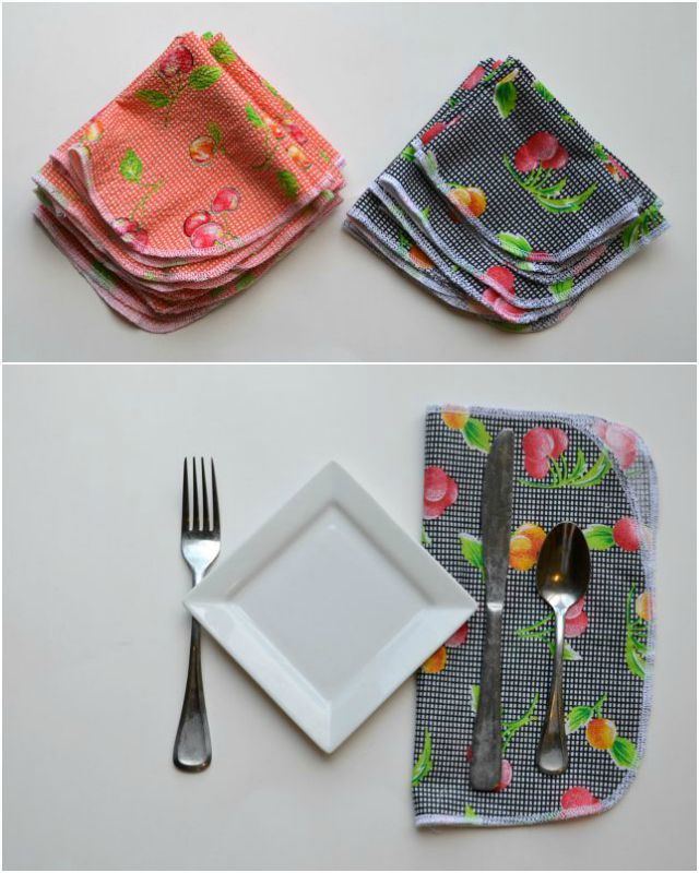Simple DIY Cloth Napkins