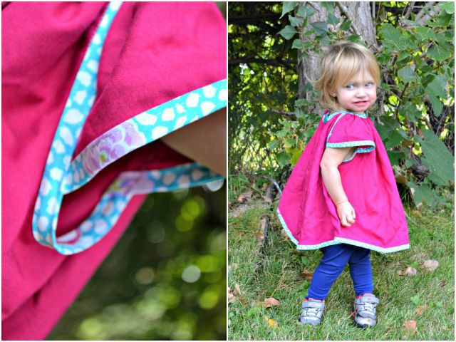 FREE SEWING PATTERN: 18 mos Swing Tunic
