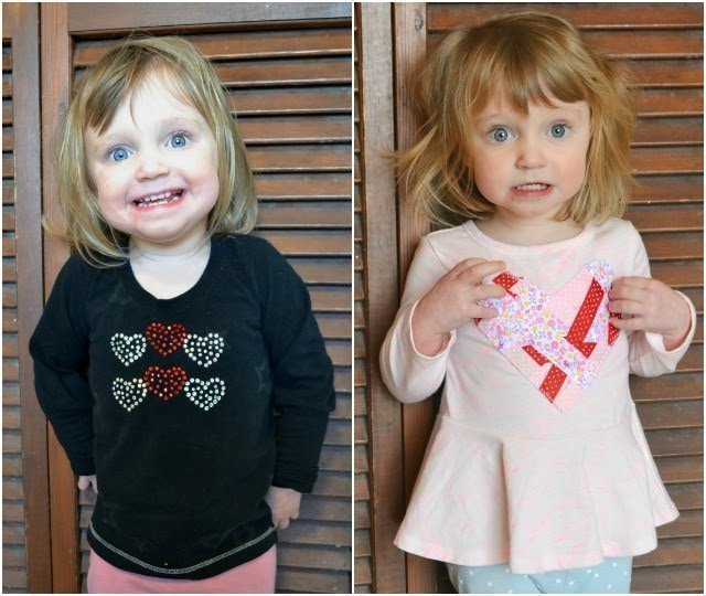 DIY Valentine Shirts with Free Printable