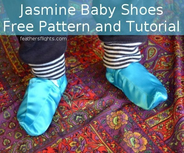 FREE PATTERN: Genie Or Jasmine Baby Shoes