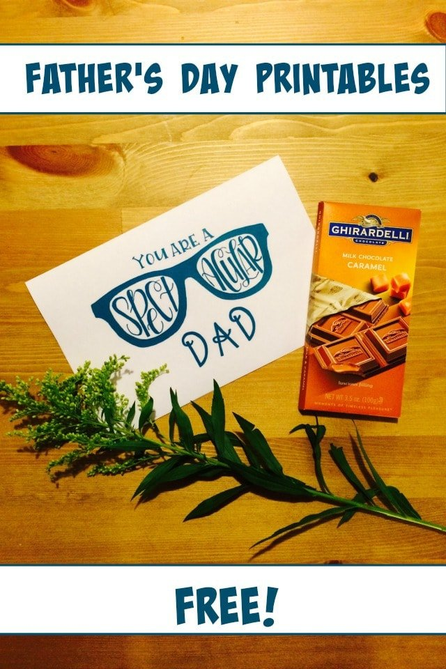 FREE: Father's Day Printables!