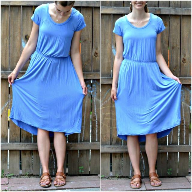 Me Made: DIY Simple Tee Dress
