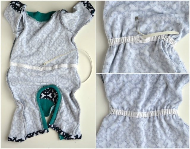 DIY Drawstring Waist T-Shirt Romper Tutorial