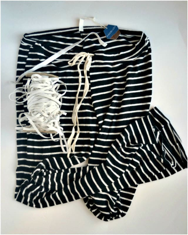 TUTORIAL: Adding Cuffs to Pajama Pants
