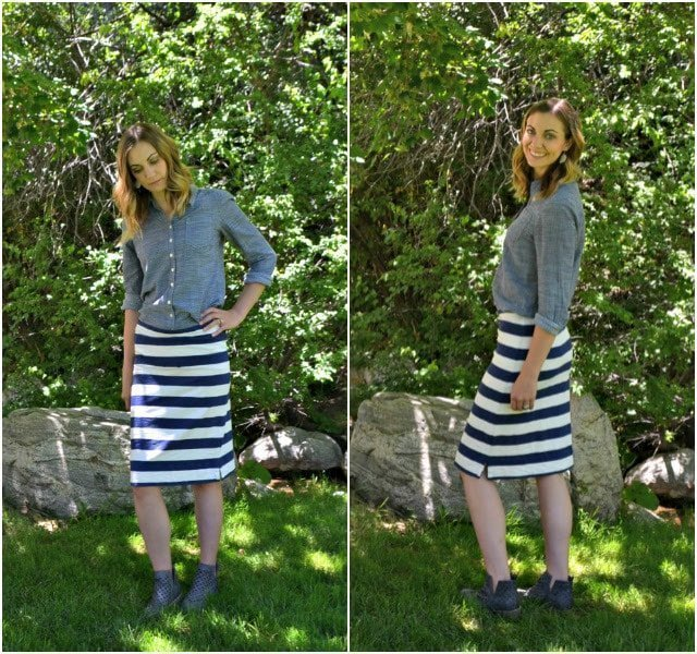 How to Refashion a Dress into a Skirt