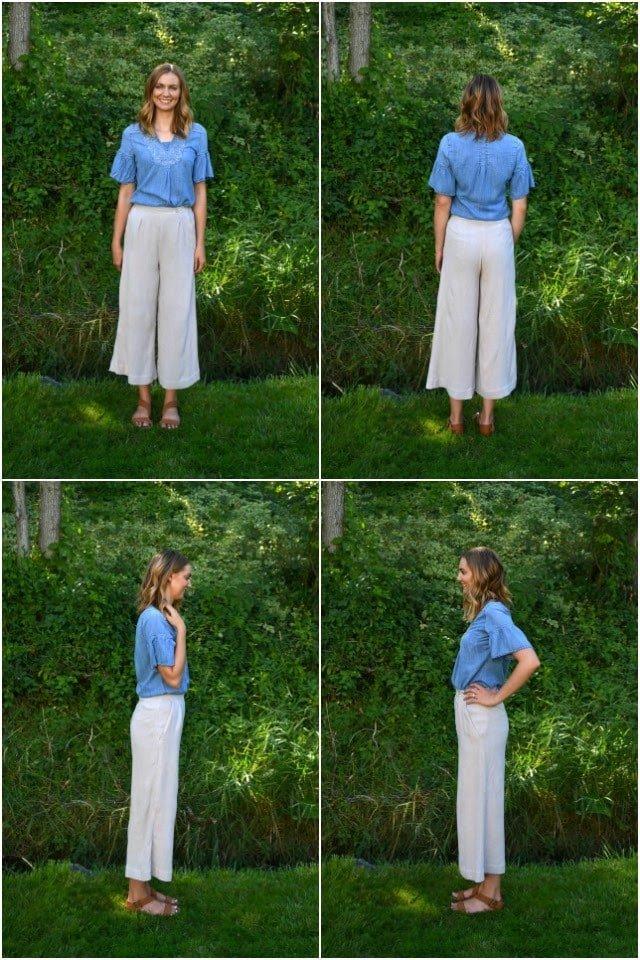 Me Made: Striped Flint Pants