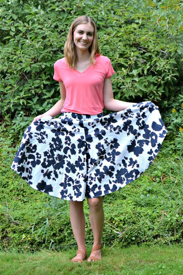 Me Made: Floral Tania Culottes