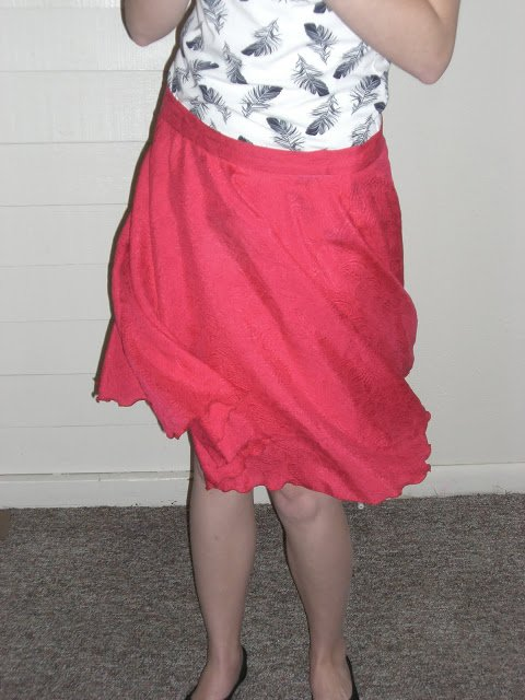Me Made: Watermelon Paisley Skirt