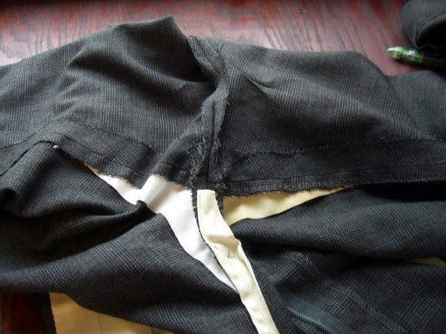 Altering a Man's Suit: Part 3 Stride