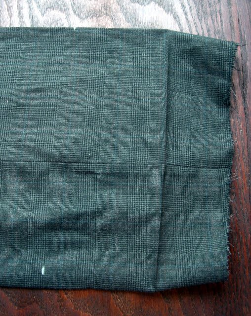 Altering a Man's Suit: Part 4 Hand-hemming Pants