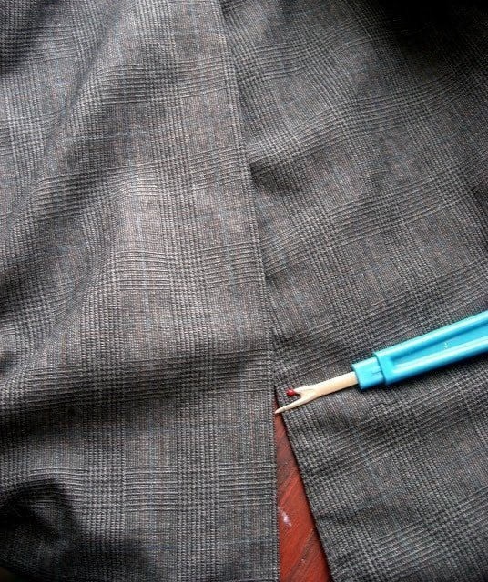 Altering a Man's Suit: Part 5 Suit Coat Sides In