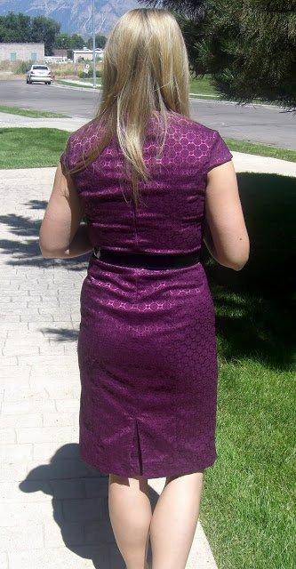 How to Close a Dress Slit