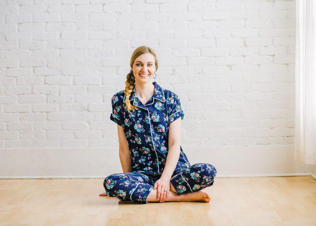 pajamas with piping