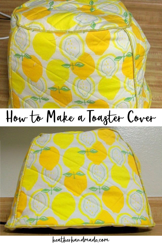 how to make a toaster cover