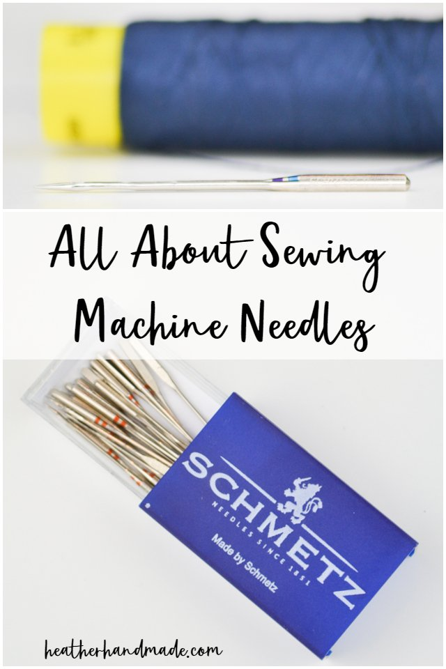 all about sewing machine needles