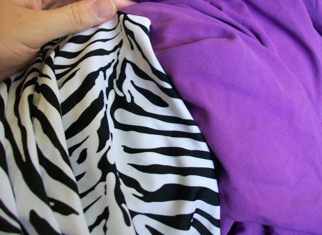 Zebra Print Swimsuit