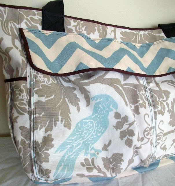 Birds of a Feather Diaper Bag