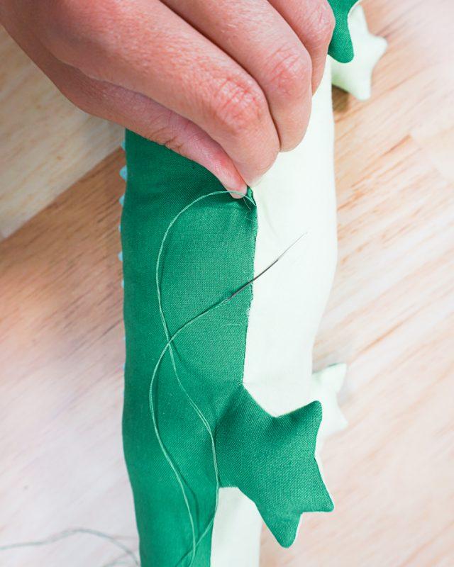 hand sew closed