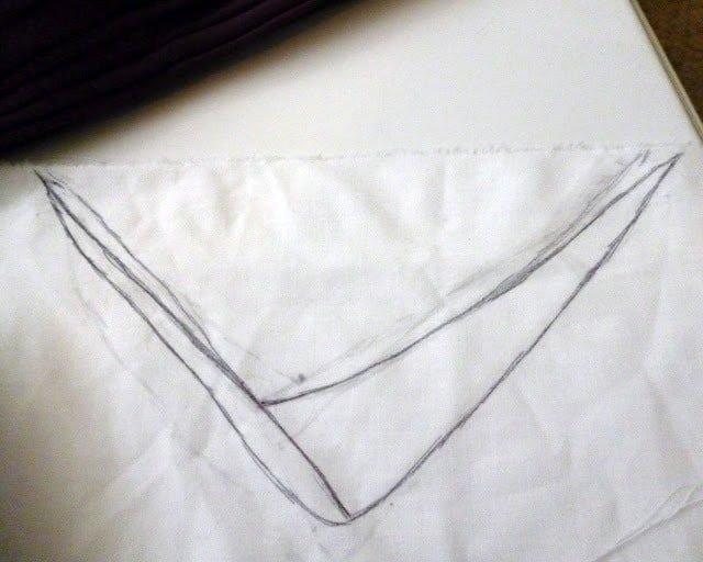 Make It Modest: Build Up a Low-Cut Neckline Tutorial