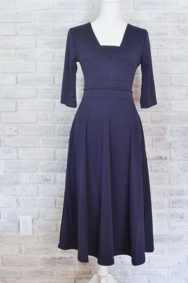 fix neckline of dress
