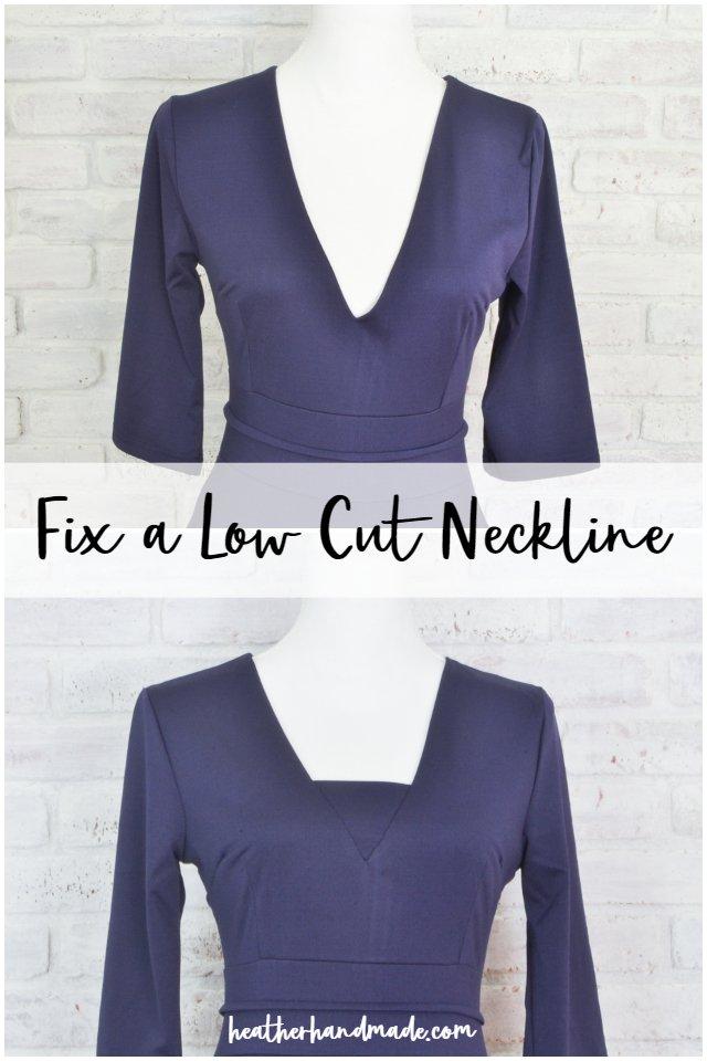 How to Raise a Neckline