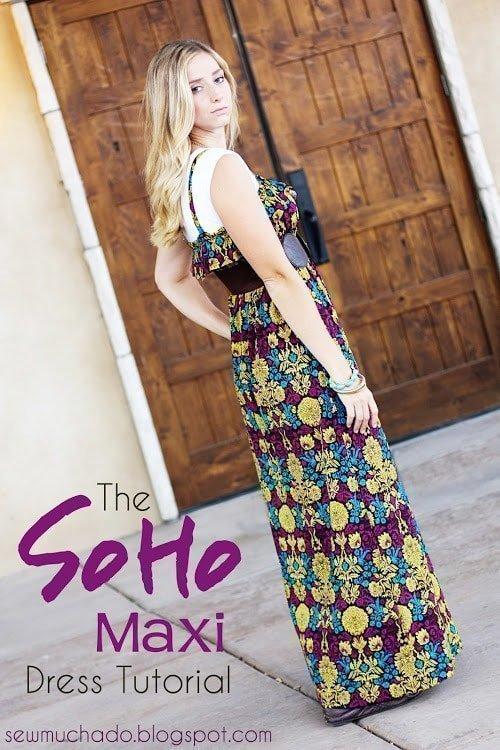 19 Free Maxi Dress Patterns - Heather Handmade