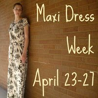 Maxi Dress Week Day 1: Cutting Out